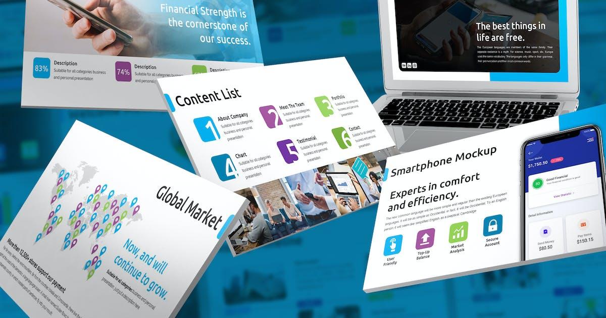 Download Bayara - Digital Payments Keynote Template by SlideFactory