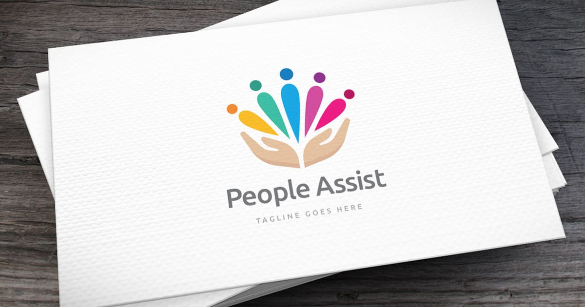 Download People Assist Logo Template by empativo