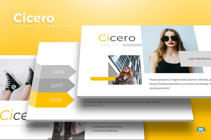 Thumbnail for Cicero - Keynote Template