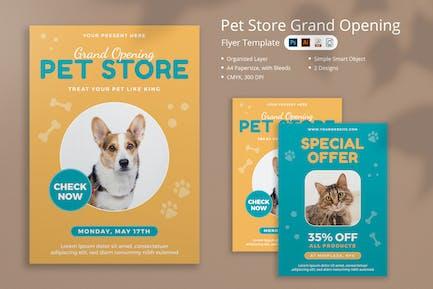 Pet Store Flyer