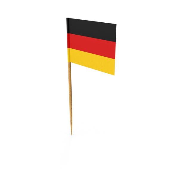 Zahnstocher Deutsche Flagge