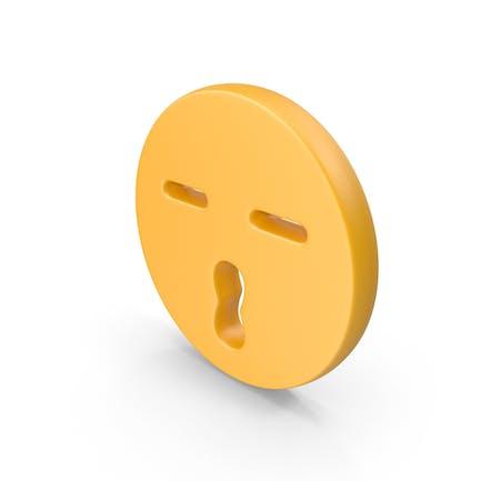Kiss Face Symbol