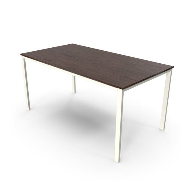 Thumbnail for Office Table Walnut White