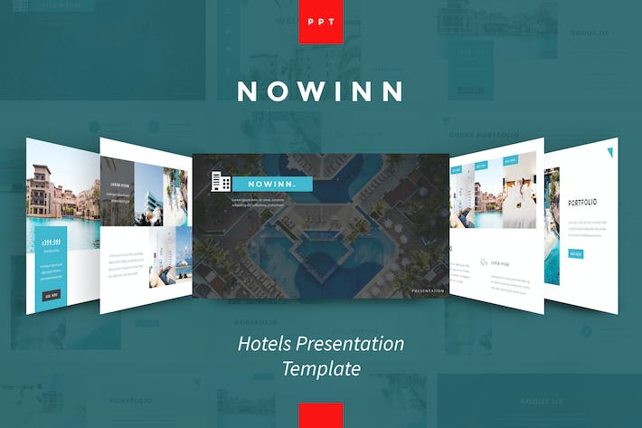 Thumbnail for nowInn - Hotel Powerpoint Presentation Template