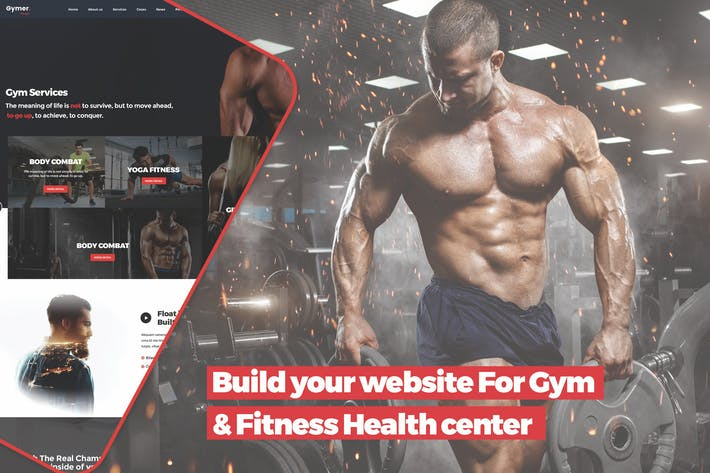 Thumbnail for Build your website For Gym & Fitness Health center