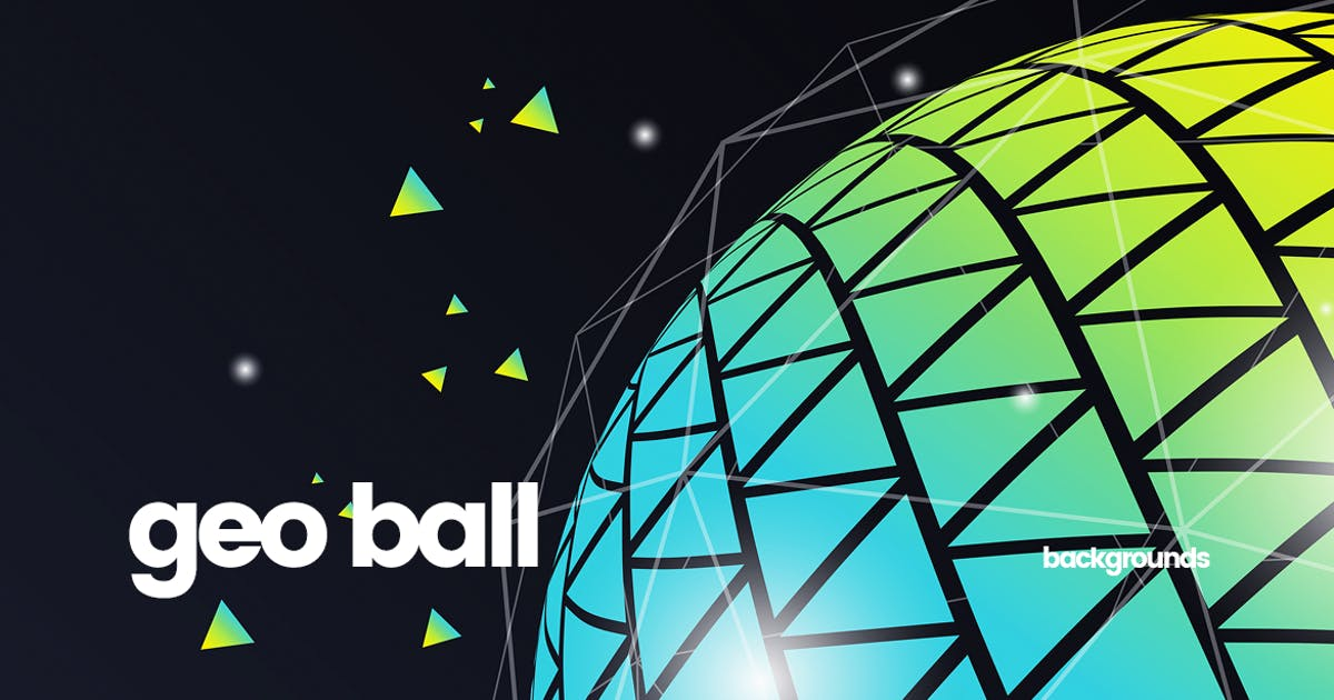 Download Geometric Ball Backgrounds by themefire