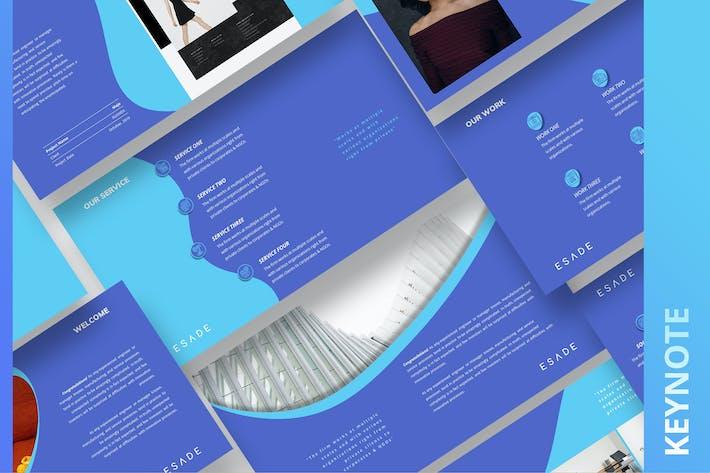 Thumbnail for ESADE - Multipurpose Keynote Template