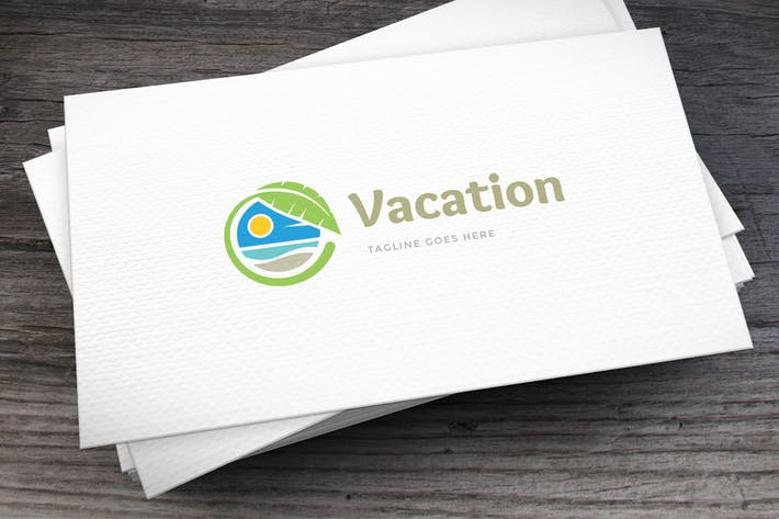 Thumbnail for Vacation Logo Template