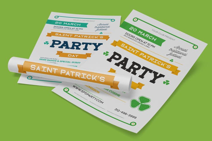 Thumbnail for St. Patrick's Party Poster