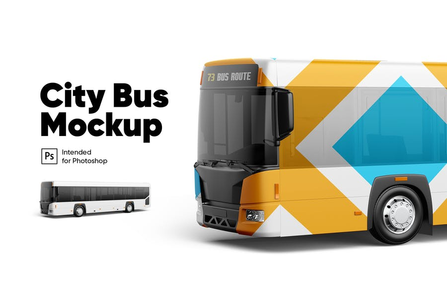 City Bus Mockup