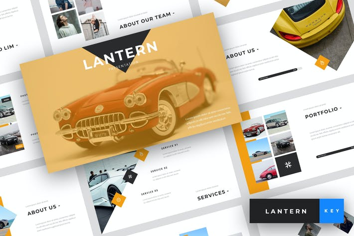 Thumbnail for Lantern - Car Dealership Keynote Template