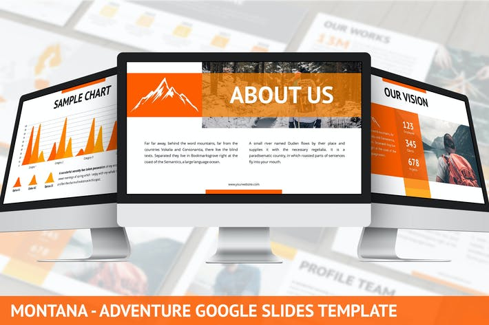 Thumbnail for Montana - Adventure Google Slides Template