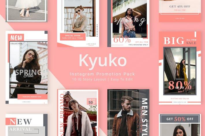 Thumbnail for Kyuko - Instagram Story Pack