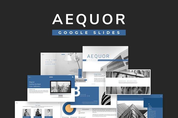 Thumbnail for Aequor Google Slides
