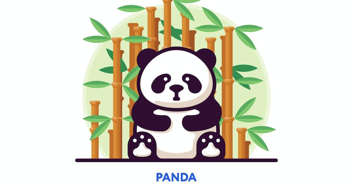 Download Panda vector illustration by mir_design
