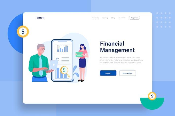 Thumbnail for Financial Management-Vektor Illustration