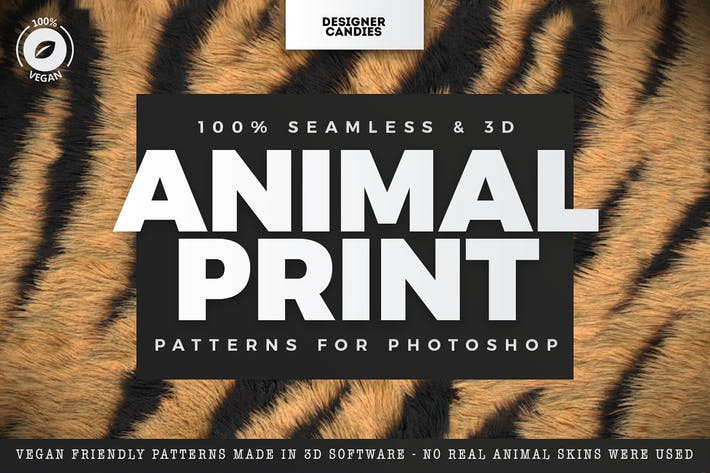 Thumbnail for Animal Print Patterns for Photoshop