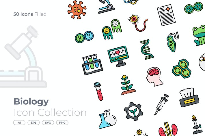 Biology  Filled Icon