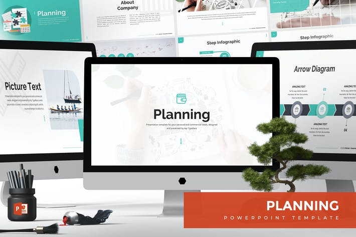 thumbnail for planning powerpoint template