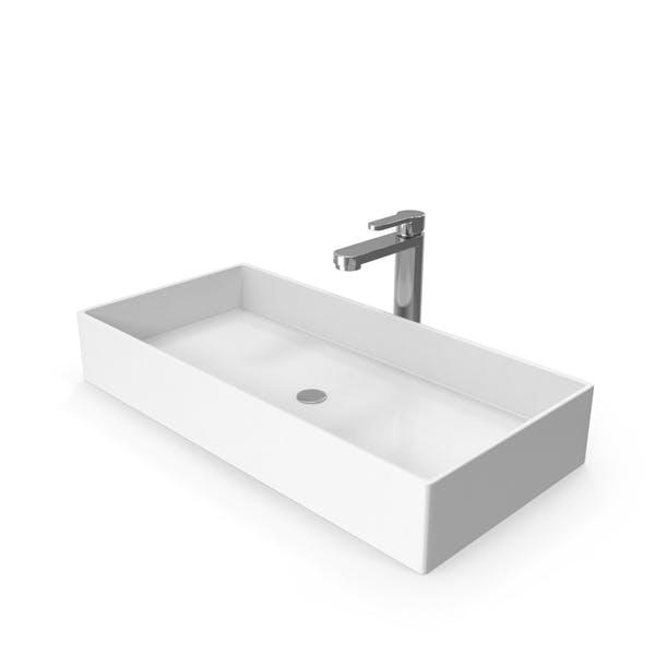 Современная раковина для ванной комнаты