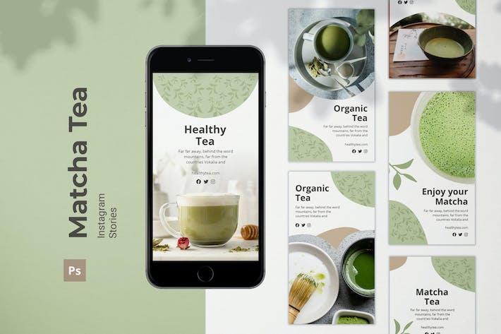Thumbnail for Matcha Tea Instagram Stories