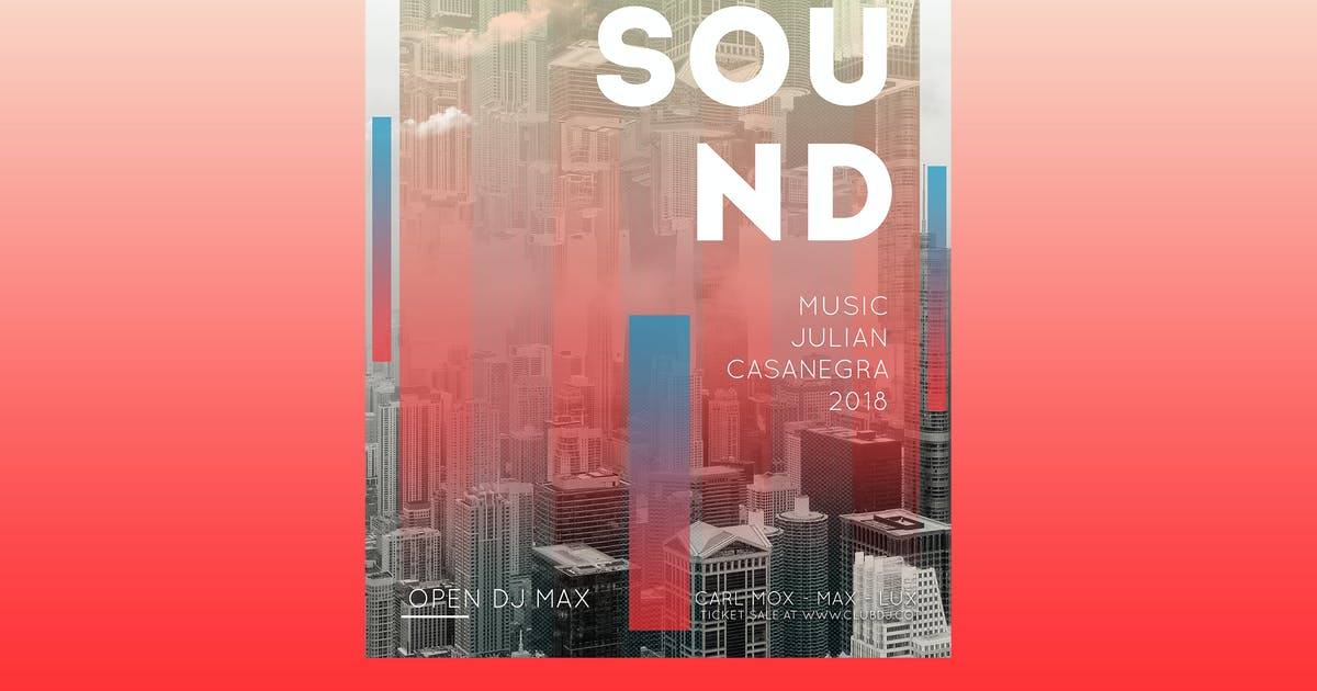 Download Sound Music Flyer Poster by Unknow