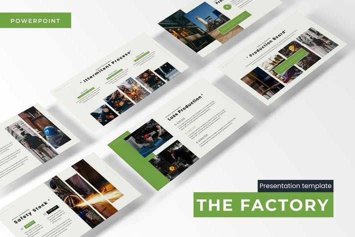 Thumbnail for The Factory - Powerpoint Template