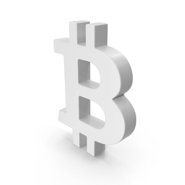 Thumbnail for White Bitcoin Symbol