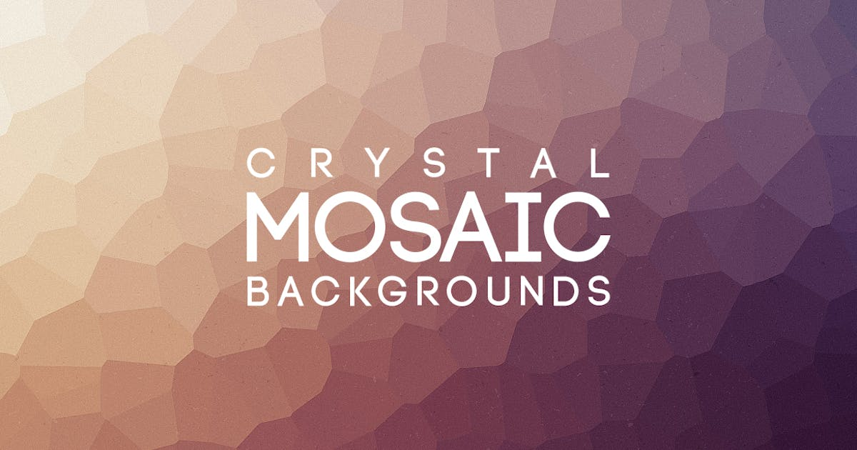 Download Crystal Mosaic Backgrounds by themefire