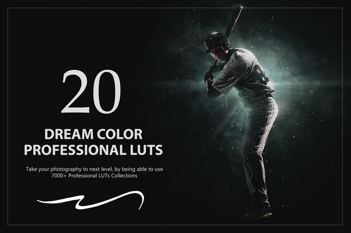 Thumbnail for 20 Dream Color LUTs Pack