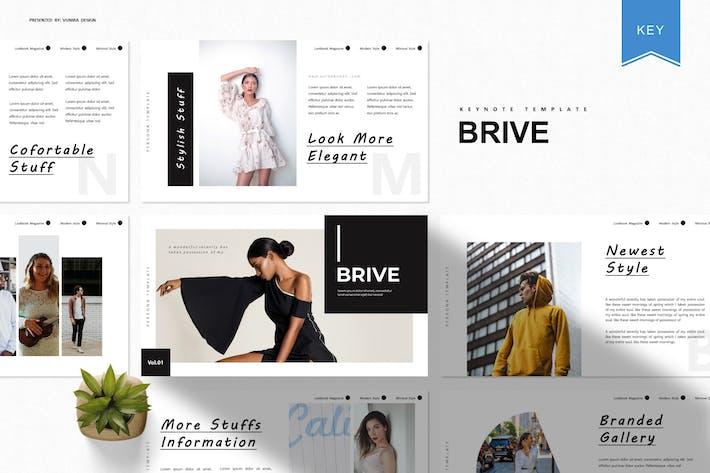 Brive | Шаблон Keynote