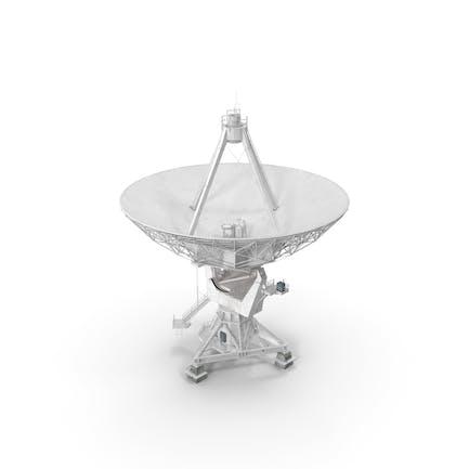 Big Parabolic Satellite Dish