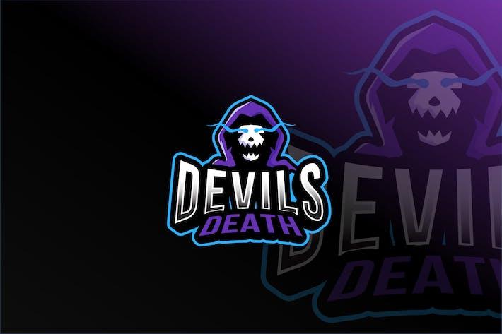 Thumbnail for Devils Death Esport Logo Template