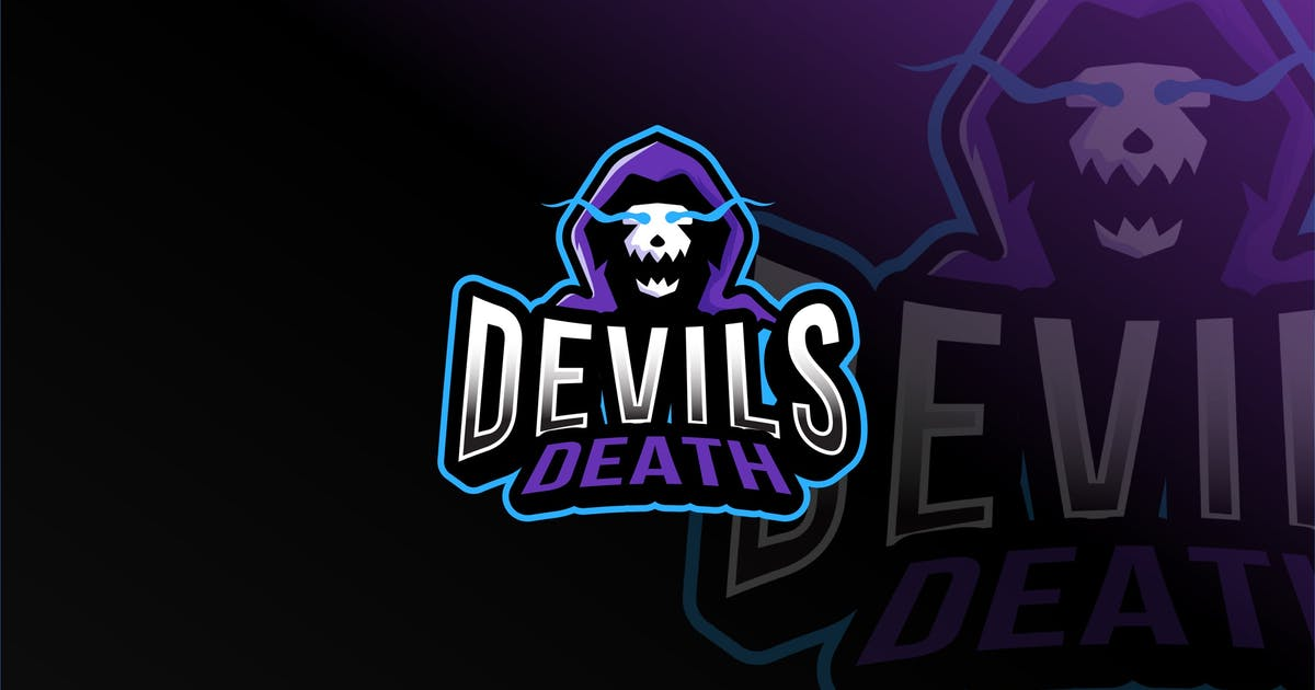 Download Devils Death Esport Logo Template by IanMikraz