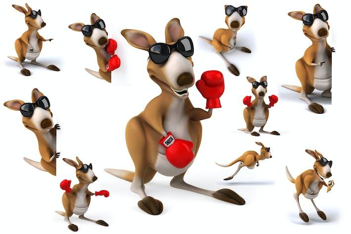 Thumbnail for 10 fun Kangaroos !