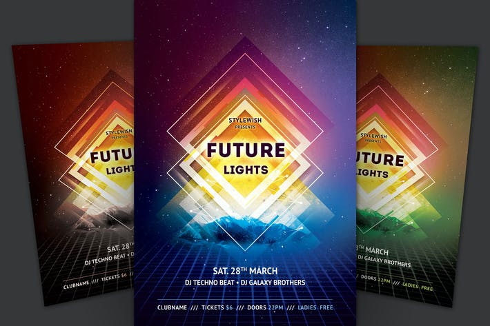 Cover Image For Future Lights Flyer