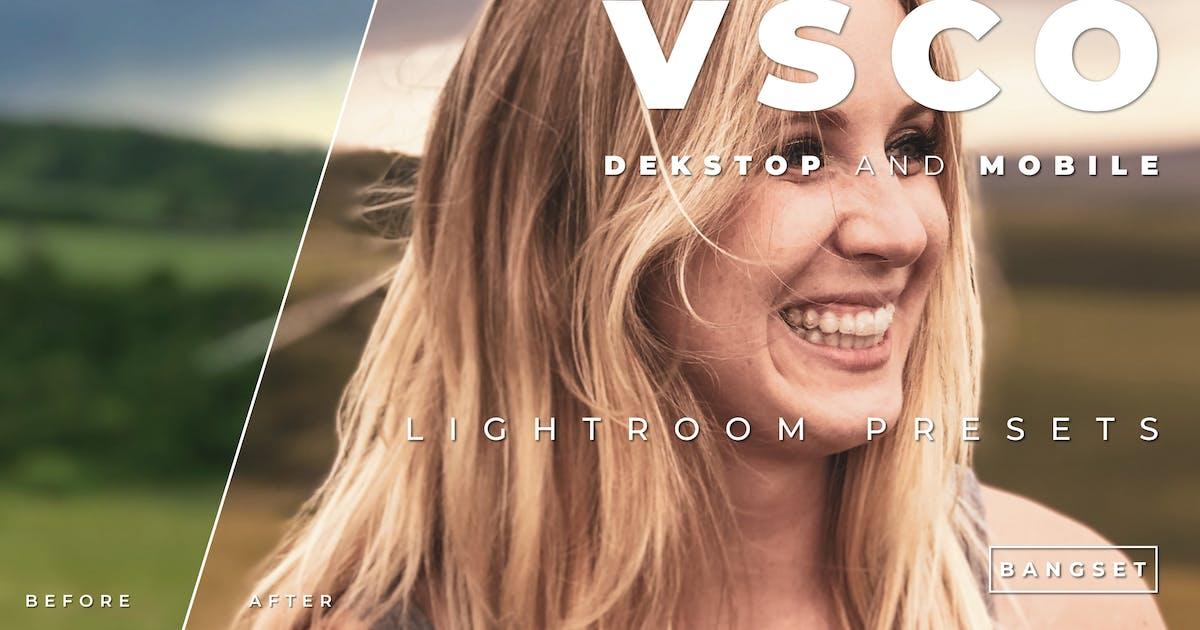 VSCO Desktop and Mobile Lightroom Preset by Bangset