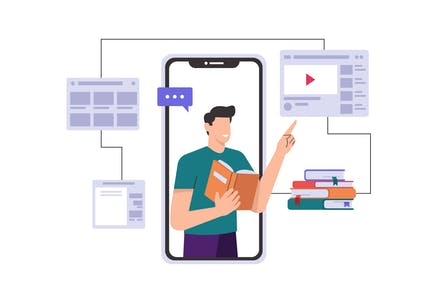 Online Learning & Online Education Through Mobile