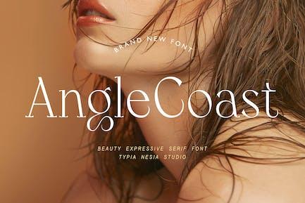 Angle Coast - Elegant Beauty Expressive Serif Font