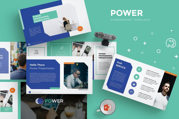 Thumbnail for Power - Powerpoint Template