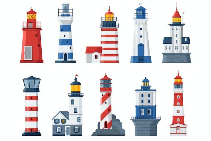 Thumbnail for Flache Leuchttürme und Sea Guide Lichter