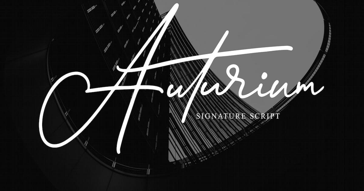 Download Auturium - Signature Script by graptailstudio