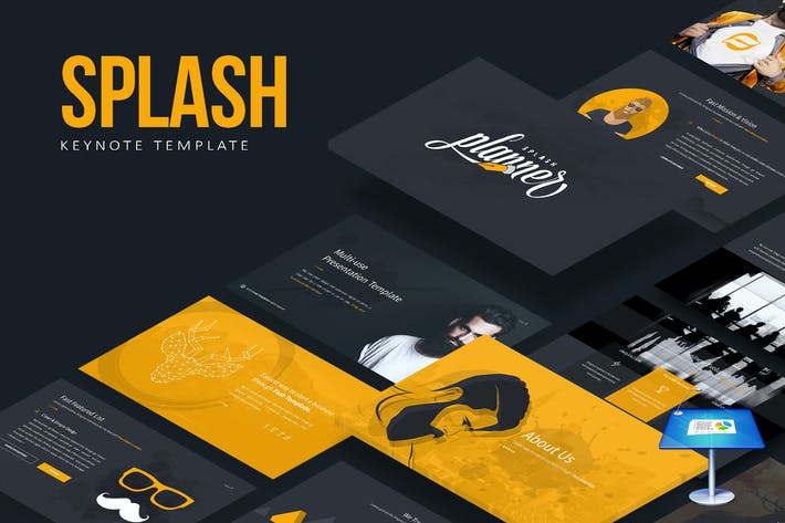 Cover Image For Splash Keynote Template
