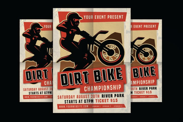 Dirt Bike Motorcross Championships Sports