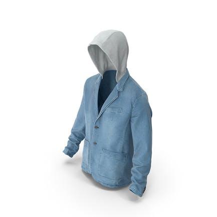 Jeansjacke für Herren Blau