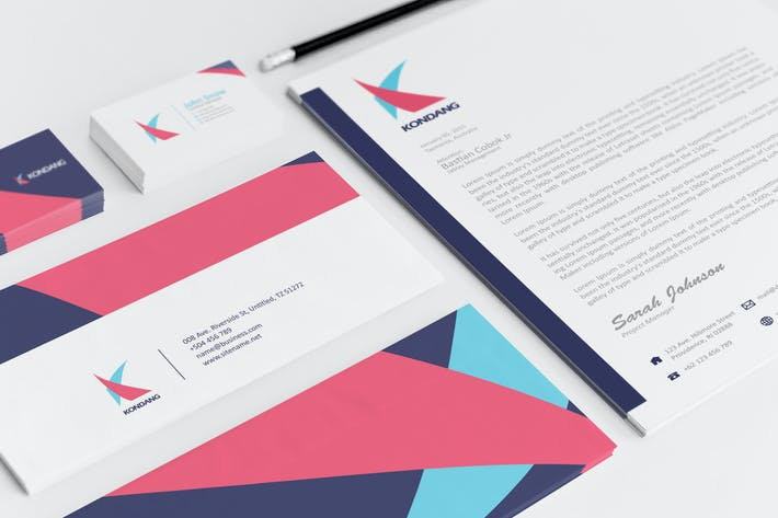 Thumbnail for Kondang Corporate Identity Template