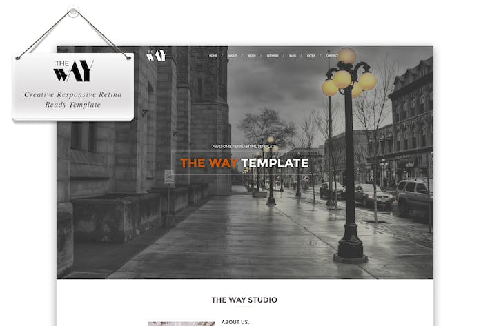 Thumbnail for The Way - Responsive Retina Ready Template