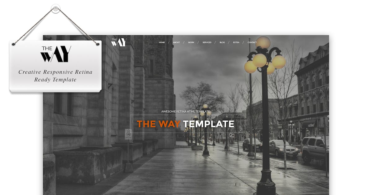 Download The Way - Responsive Retina Ready Template by IG_design