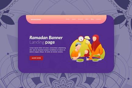 Ramadan - Hero Banner Template