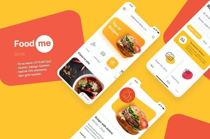 Thumbnail for Foodme UI Kit